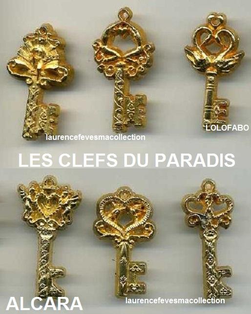 0 dv235 dv1362 les clefs du paradis dorees x 6 alcara