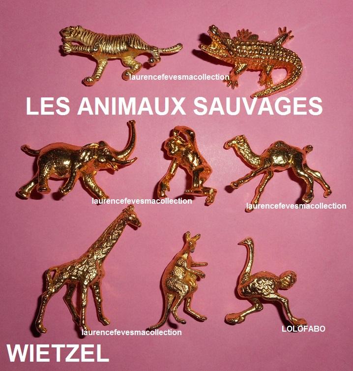 0 les animaux sauvages wietzel