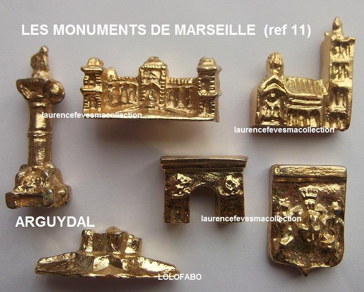 0 ref 11 les monuments de marseille dore arguydal