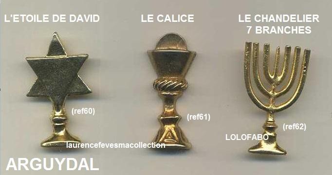0 ref 60 61 62 l etoile de david le calice le chandelier 7 branches fr90 p11 arguydal