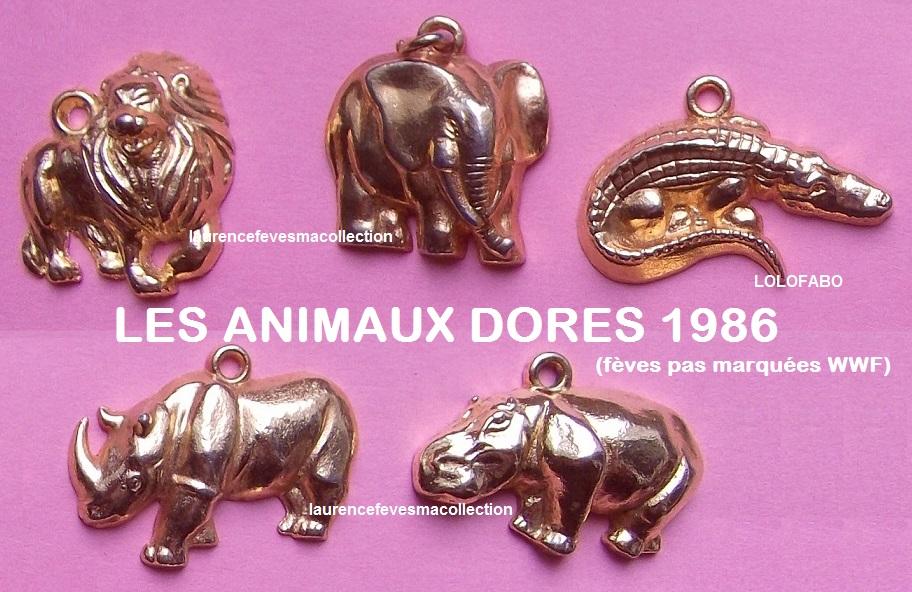 1986 animaux dorés pas wwf