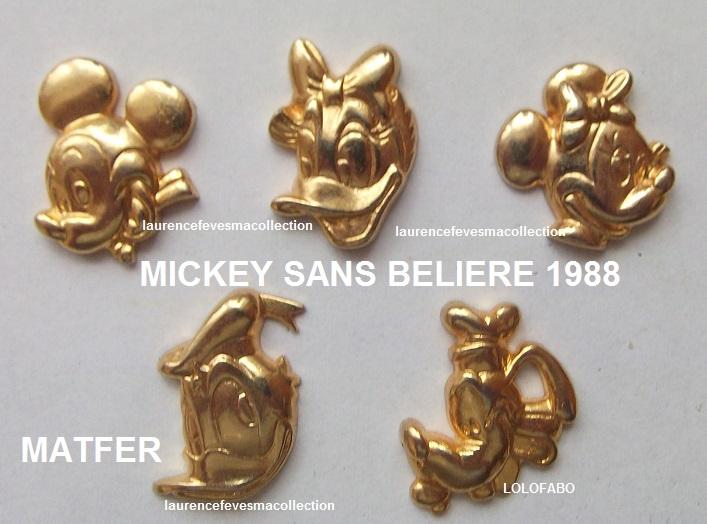 1988 mickey sans beliere 1988 matfer