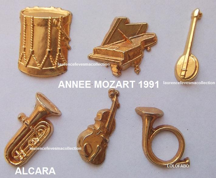 1991 annee mozart instruments de musique metal alcara