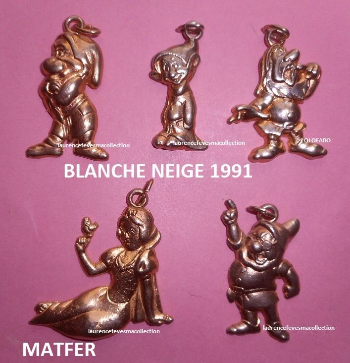 1991 blanche neige et les 7 nains 1991 matfer