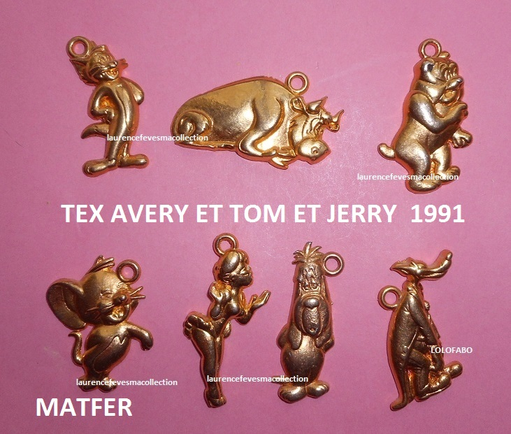 1991 tex avery et tom et jerry 1991 turner matfer heros de bd
