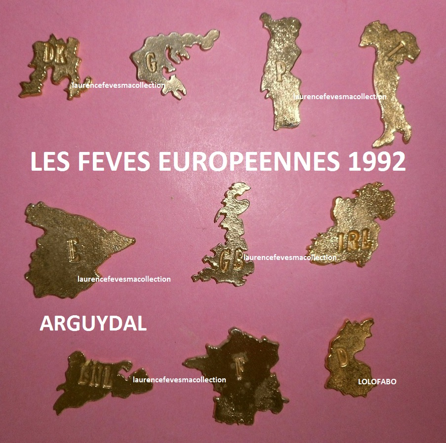 1992 feves europeennes arguydal europe metal