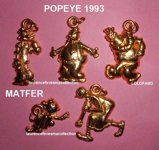1993 popeye doree aff1993p15 matfer