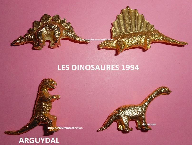 1994p10 dinosaures metal dore aff94p10 arguydal