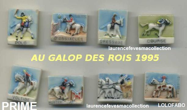 1995p35 au galop les rois cheval hip aff95p35