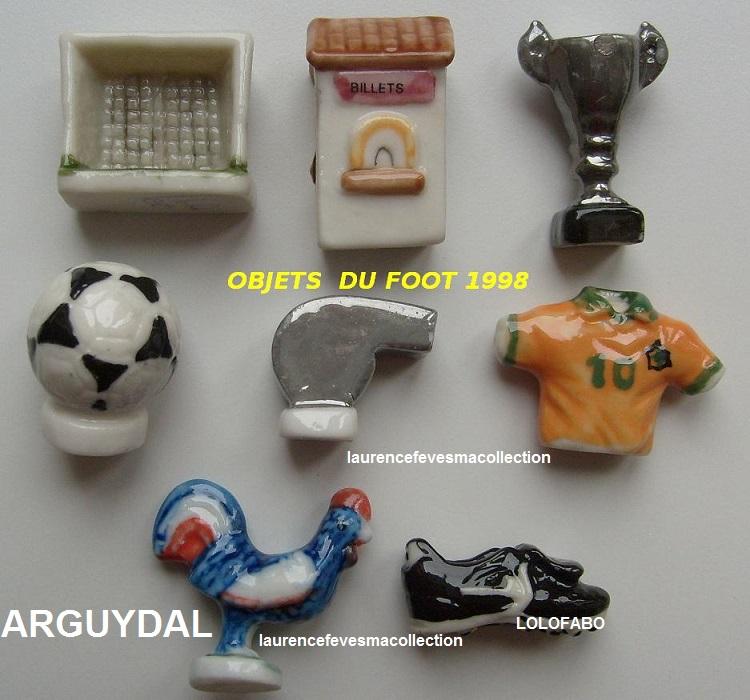 1998p21 sp189 x objets du foot aff98p21