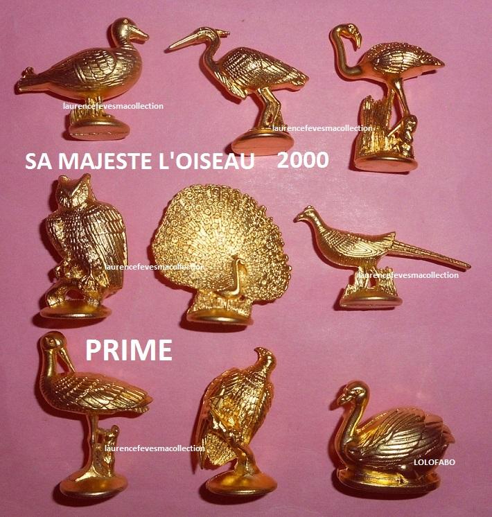 2000p88 an394 sa majeste l oiseau dores 2000 prime