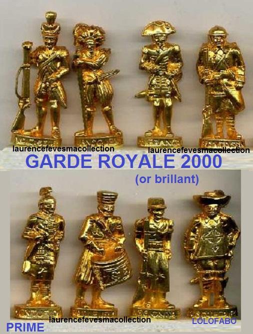 2000p88 garde royale or brillant soldat dore prime