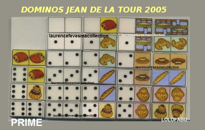 2005 dominos jean de la tour x 05p124