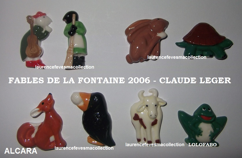 2006 fables de la fontaine 2006p10 claude leger