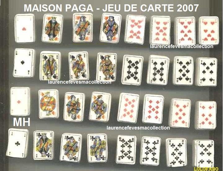 2007 jeu de cartes paga 2007 livre aff2008p85