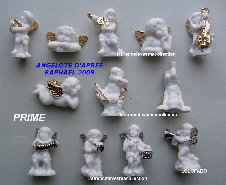 2009p97 angelots d apres raphael 2009 les anges