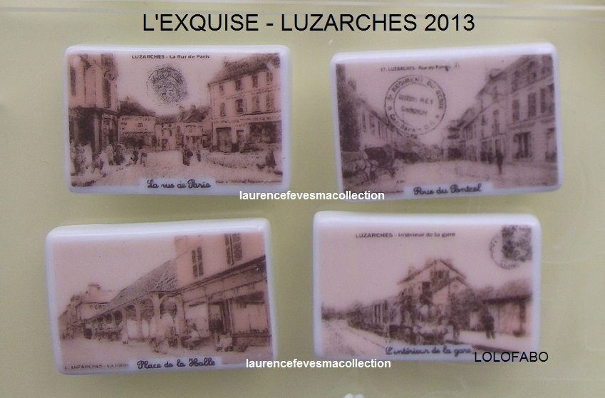 2013 cartes postales l exquise luzarches 2013